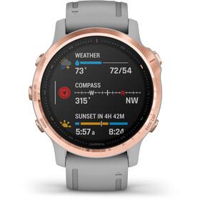 Garmin Fenix 6S Sapphire Multisport GPS Smartwatch, gris